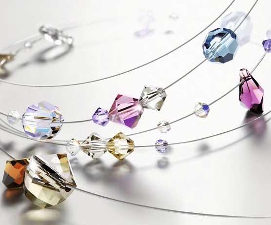 Swarovski kristály nagyker fűzhető gyöngy